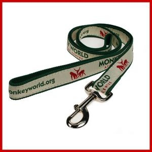 Woven Satin Dog Leash